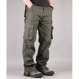 30 44 Plus Size High Quality Men S Cargo Pants Casual Mens Tactical Pant Multi Pocket Military Overall For Men Long Trousers Intl Best Buy