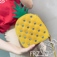 Sale Ulzzang Indie Fun Pineapple Shoulder Bag Yellow Online On China