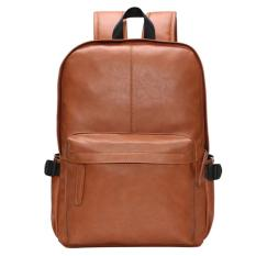 Price 360Dsc Menboson 8108 Fashion Men Pu Leather Backpack Schoolbag Outdoor Travel Bag Brown 360Dsc New