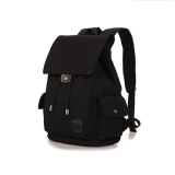 How To Get 360Wish Dxyizu Drawstring Canvas Backpack Rucksack Sch**l Bag Travel Bag Black