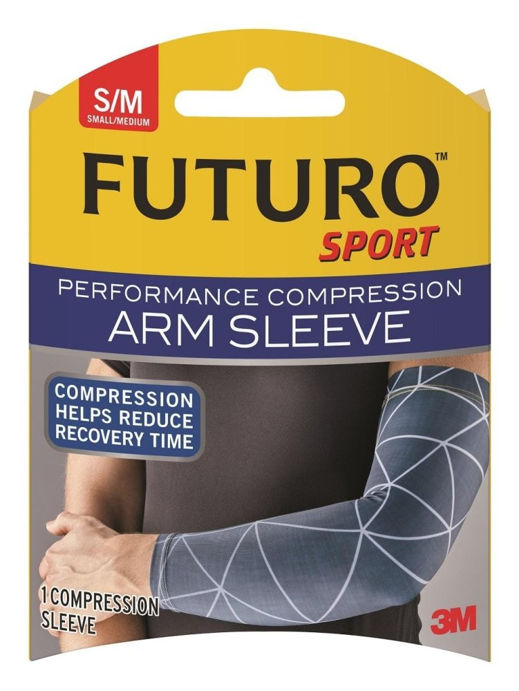 3m Futuro Performance Compression Arm Sleeve - Small / Medium By 3m Official Store.