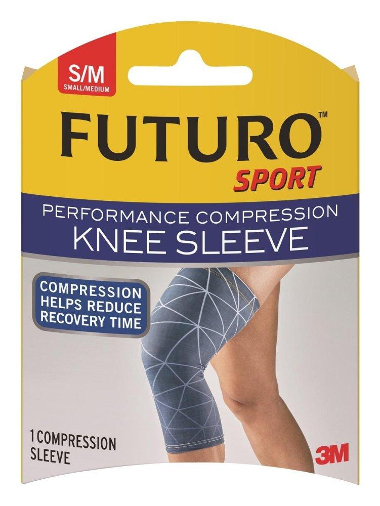 Price 3M™ Futuro™ Performance Compression Knee Sleeve Small Medium Futuro New