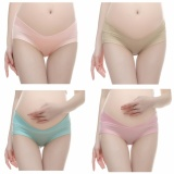 Review 4 Pcs Maternity Cotton Underwear Briefs Under The Pump Pack Underwear Intl China