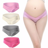 Promo 4 Pcs Maternity Cotton Underwear Briefs Under The Pump Pack Underwear Intl