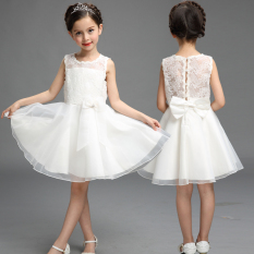 Sale Anboly Girls Pure Cotton Dress Princess Dress White Princess Dress White China
