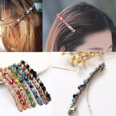 7Pcs Barrette Crystal Hair Clips Women Girls Hair Barrettes Intl China
