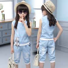 Large Girls Summer Thin Sleeveless Cotton Vest Compare Prices