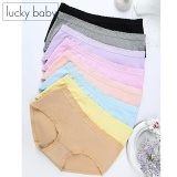 8 Pieces Fashion Underwear Comfortable Ladies Panties G*rl Soft Underwear Colorfu Transparent Gauze Lace Middle Waisted Cotton Shaping Pants High Elastic Super Stretchable Anti Odour Panties Best Quality Lowest Price Clearance Sale Intl Lowest Price