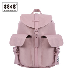c162b42386 8848 New Style Fashion Solid Color Korean Style Women s Backpack School Bag  Casual Backpack Peng Gafo