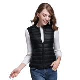 Store Hundred Towers Down Feather Clothing Spring And Autumn Lightweight Vest Black Oem On China