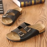 Get Cheap A Pair Of Cork Slippers Men S Summer Sandals Beach Sandals Korean Trends Sandals Casual Flip Flops Intl