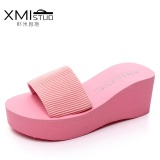 Buy A01 Hot Sale New Style Beach Slipper Height Increasing Anti Slip Women S Flip Flops Ly916 Pink Intl Online China