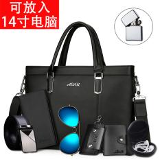 The Cheapest Horizontal Men Tote Bag Mens Bag Black Large Buy A Send Ten Black Large Buy A Send Ten Online