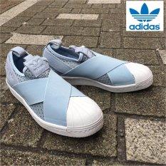 Adidas New Originals Superstar Slip-on BB2121 Light Blue-White