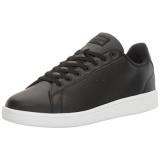 Buy Adidas Neo Mens Cloudfoam Advantage Clean Sneakers Black Black Dark Solid Grey 9 5 M Us Intl Online