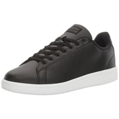 Sale Adidas Neo Mens Cloudfoam Advantage Clean Sneakers Black Black Dark Solid Grey 9 5 M Us Intl Online On South Korea