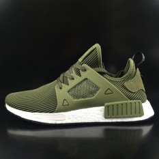 314609c5542a9 Adidas NMD XR1 Olive Green Primeknit S32217 Men s Running Shoes - intl