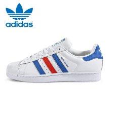 da335fdf5 Adidas Originals Superstar Casual Shoes BB2246 White Blue Red