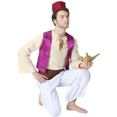 How To Get Aladdin Prince Cosplay Costume Purple Intl
