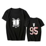 Brand New Alipop Kpop Korean Fashion Bts Bangtan Boys Love Yourself Album Young Forever Cotton Tshirt K Pop T Shirts T Shirt Pt622 V Black Intl