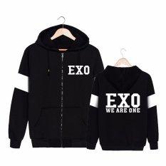 Buy Alipop Kpop Korean Fashion Exo Album We Are One Cotton Zipper Hoodies Clothes Zip Up Sweatshirts Pt249 We Are One Intl On China