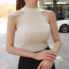 Price S*xy Knit New Style Short Top Vest Beige Oem China