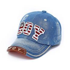 Amart Adjustable Kids Hat Cowboy Baseball Cap (blue) By Amart.