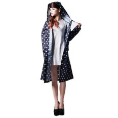Buy Amart Fashion Dot Outdoor Travel Women Girls Waterproof Riding Clothes Raincoat Poncho Amart
