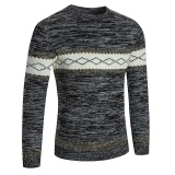 Amart Fashion Men Sweater Pullovers Casual O Neck Simple Slim Knitting Sweaters Autumn Winter Warm Tops Black Intl Price Comparison