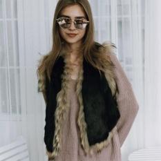 Amart Fashion Women Short Vest Artifical Fur Coat Autumn Winter Keep Warm Personality Waistcoat Intl Amart Discount
