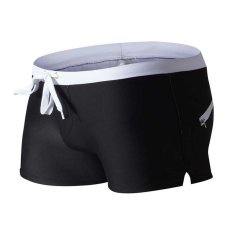 Amart Men Swimwear Breathable Swimsuits Swim Trunks Boxer Briefs Beach Shorts - Intl By Amart.