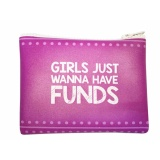 Ameba Singlish Girls Just Wanna Have Fund Pouch Coupon