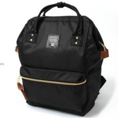 Best Price Anello Original Japan Large Capacity Mens Casual Backpack Black With Backzip