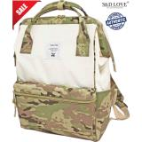 Cheap Anello Original Japan Large Capacity Unisex Casual Backpack 2016 New Whitexcamokhaki With Backzip