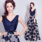 Tianshijiayi Retro Disk Flowers Lace Large Bridesmaid Clothing On China
