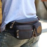 Best Deal Mu Zhiyi Men Multi Function Belt Bag Bags For Men Animal Husbandry Of Yi Blue Black Upgrade Version Animal Husbandry Of Yi Blue Black Upgrade Version