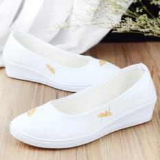 Wholesale The Archaic Men S Casual Qiu Ji Kuan Hanfu Shoes Ladies Shoes Ginkgo Biloba Ginkgo Biloba