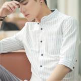 Best Buy Artistic Cotton Summer Slim Fit Shirt Short Sleeved Men S Shirt White