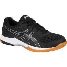 Price Comparisons Asics Gel Rocket 8 Multicourt Shoes Black Black White