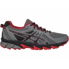 Coupon Asics Gel Sonoma 2 Running Shoes Carbon True Red Black