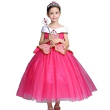 Sale Aurora S High Quality Party Show Pop Princess Dresses Color Rose Red Intl On China