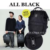 Best Buy Authentic Anello Backpack 2017 New Released Web Limited All Black Ver 1 Ec B001