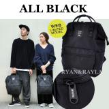 Price Authentic Anello Backpack 2017 Web Limited Model All Black Ec B001 Anello Singapore