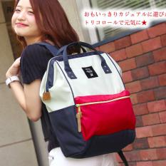 Best Buy Authentic Anello Backpack Japan Hot Selling Rucksack Large Size Mix F Color