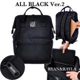 Sales Price Authentic Anello Backpack Web Limited All Black Ver 2 Ec B002