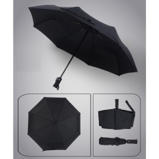 Auto Open Close Fold Telescopic Umbrella Windproof Reinforced Ribs Travel Outdoor Umbrella Black Intl Lowest Price