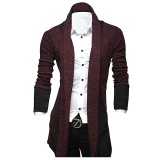 Cheap Autumn Winter New Men S Casual Cardigan Sweatshirt Slim Personality Long Business Gentleman Clothing Sweaters Intl