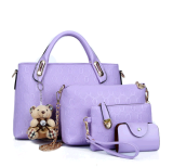 Price Women S Stylist 4 Piece Bags Violet Violet Other New