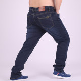Buy Male Stretch Loose Plus Sized Pants Jeans D8658 Cheap On China