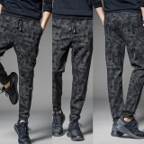 Store Autumn And Winter Men S Pants Tide Camouflage Pants Slim Feet Haren Casual Pants Camo Intl Oem On China